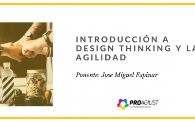 Video del Webinar: «Innovación Ágil con Design Thinking​»